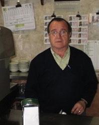 Jose Rosique, propietario del bar Pedrin