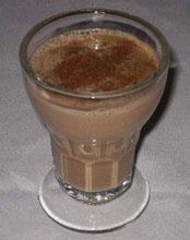 Copa de café asiático