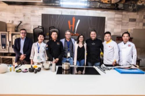 La gastronomía china y española se funden en el primer taller de ASCAIB dedicado a Corvina REX