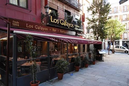 Disfrutar del verano en Los Galayos (Plaza Mayor de Madrid)