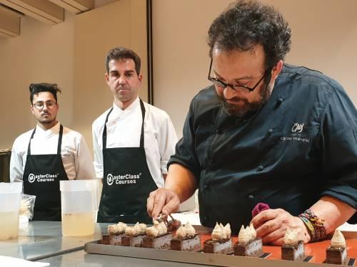 Masterclass de Alta Pastelería con CARLES MAMPEL