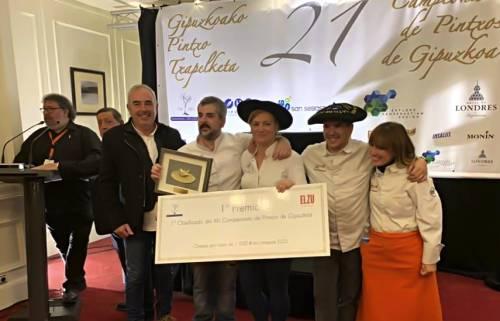 Gran Sol de Hondarribia, campeón de Gipuzkoa de pintxos por segundo año consecutivo