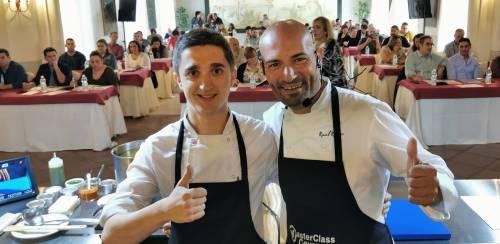 Rotundo éxito de la Masterclass de Arroces y Cocina del Mar impartida por el Chef Raúl Resino en Jerez de la Frontera.