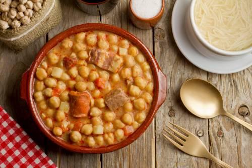 Cómo hacer un cocido Madrileño