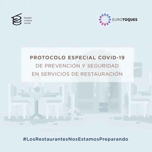 Protocolo Especial COVID-19 de prevención y seguridad en servicios de restauración
