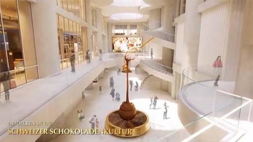 Lindt & Sprüngli Inaugurala 'Lindt Home of Chocolate'