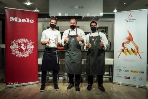 """1er Premio """"Tapa Alimentos de España""""."""