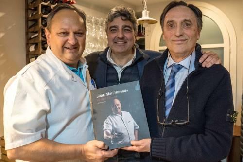 Juan Mari Humada, el chef del vino