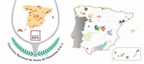 Abierto el plazo de inscripción para la 5ª edición del Concurso Nacional de Vinos de Pequeñas D.O.'s