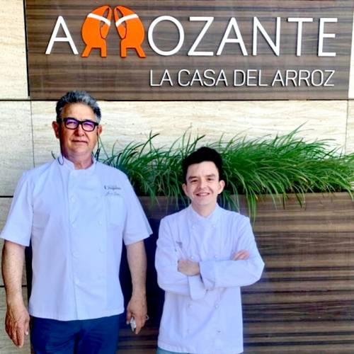 Las Paellas del Maestro Arrocero José Luis Chaparro y el Chef Xavi Gallifa...