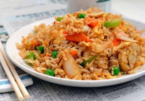 Mao remake en arroz frito