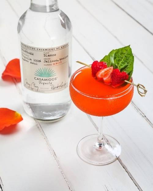 Coctel Casamigos Strawberry Smash