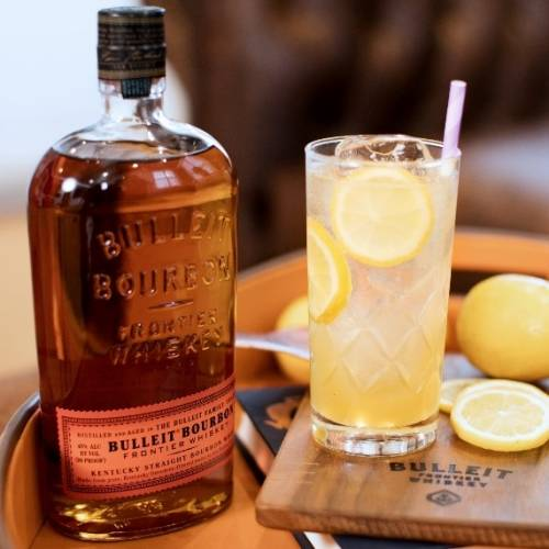 receta de coctel BLT – Bulleit, Lime and Tonic