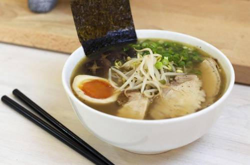 RECETA DE Shoyu Ramen 醤油ラーメン