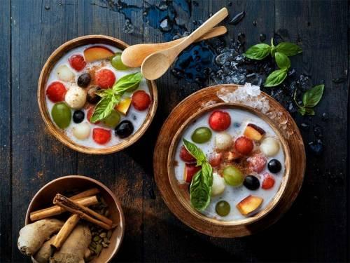 Ha Qua Dam Macedonia Vietnamita | Frutas y Frutos | Ensaladas | Postres