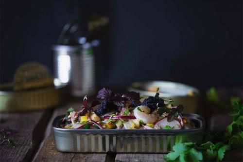 Ceviche de Cuarentena: Latas y Frutas