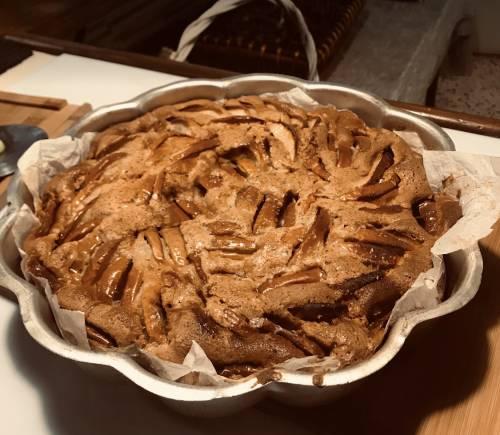 Tarta de Manzana al estilo mama Elena