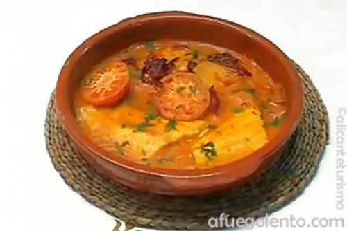 Menú de Alicante: Sardinas, Arroz y Lubina   Recetas y menús