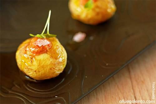 Una nueva versión de patatas con pulpo | Recetas y Menús Verduras y hortalizas Moluscos