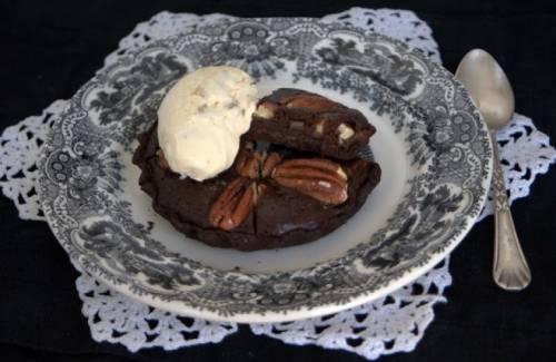 Tarta de Chocolate y Nueces de Brasil
