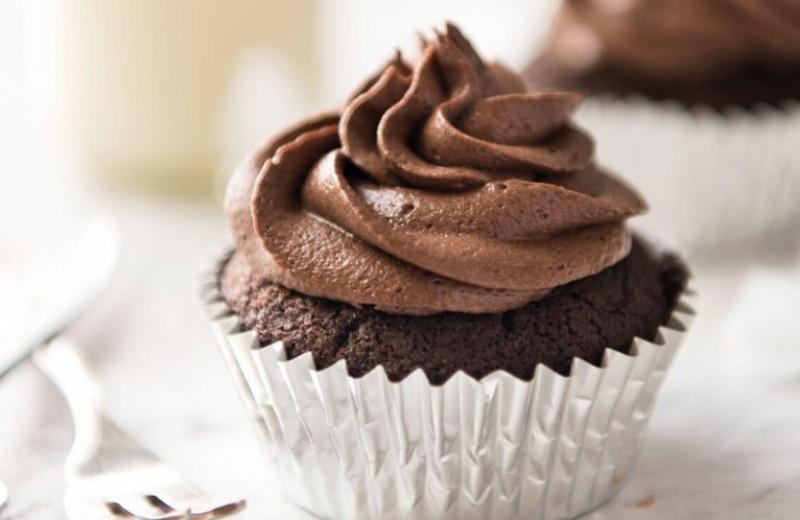 Receta de Cupcakes de chocolate sencillos - A Fuego Lento