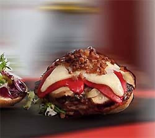 Hamburguesa de cerdo ibérico