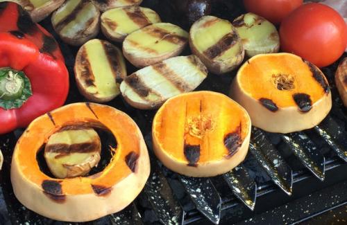 Parrillada de verduras, una opción fácil y saludable