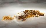Receta Fideua de Hongos y Foie Afuegolento