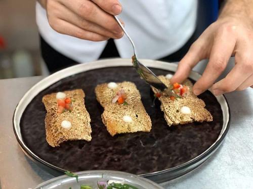 Bocata de pescadito frito