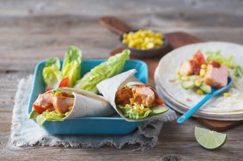 Tacos de Salmón