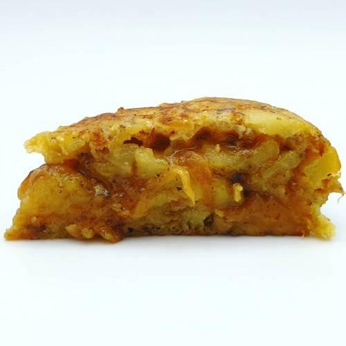 Totilla de patata trufada: