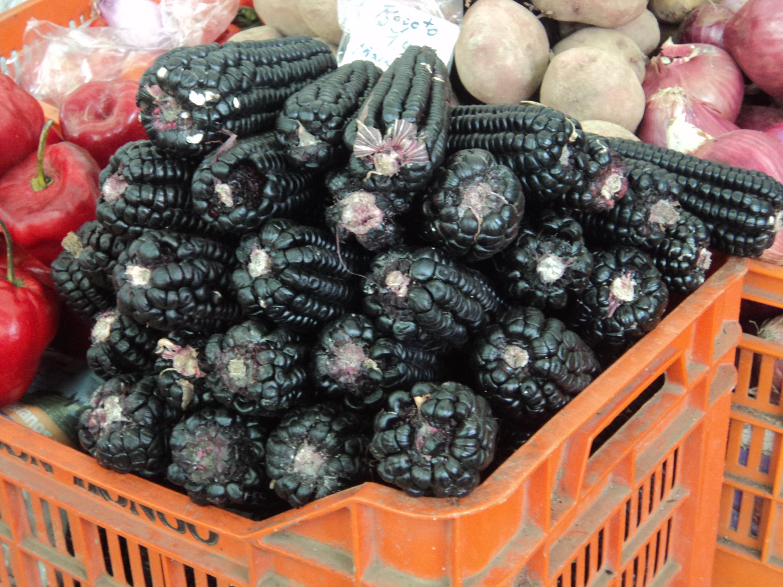 Maíz Morado, Mercado de Arequipa