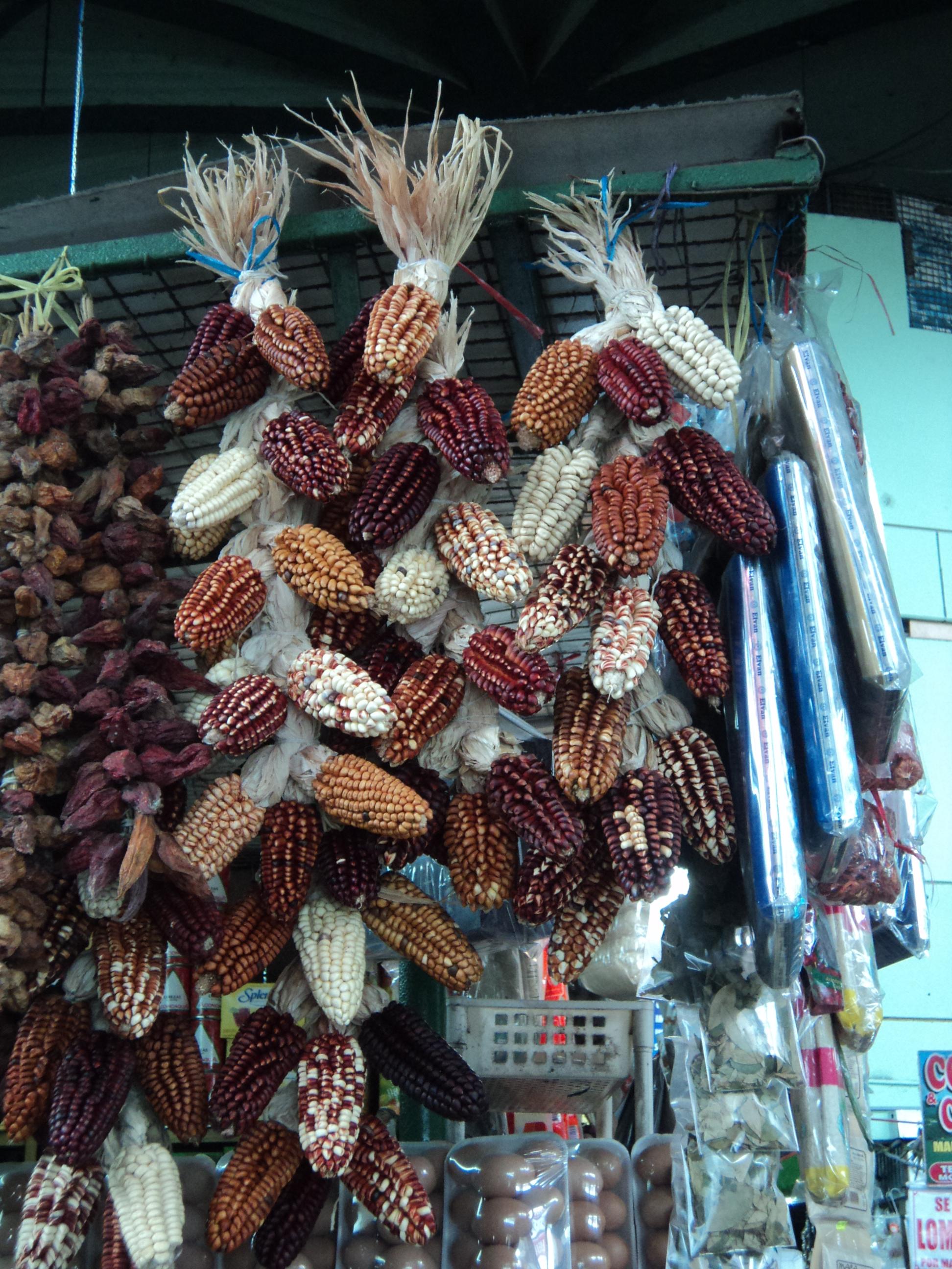 Maíz seco, Mercado de Oxapampa