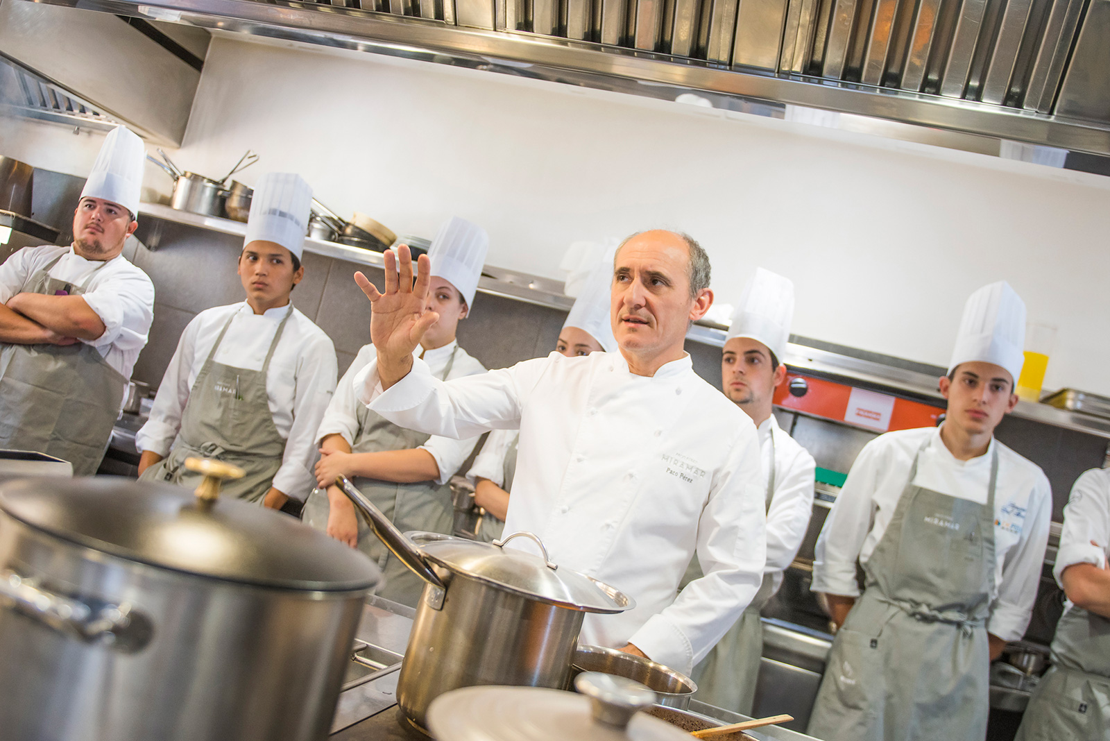 Receta Merluza Romana Adobada Chef Paco Perez Mirarmar Afuegolento