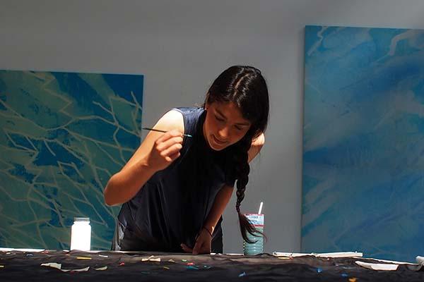 Belen Rodrigez Creadora Artista Premio Arte Emergente Cerv Alhambra Afuegolento