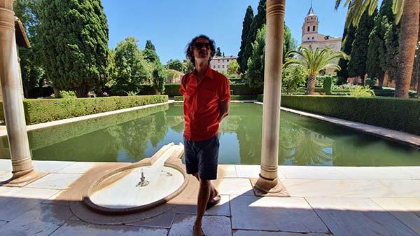 Fernando Garcia Creador Artista Premio Arte Emergente Cerv Alhambra Afuegolento