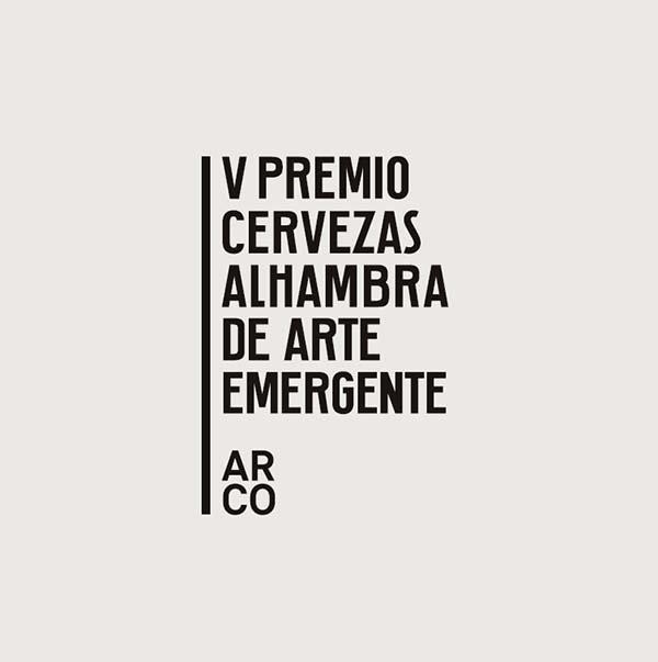 Logo V Premio Arte Emergente Cervezas Alhambra Afuegolento