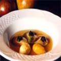 Receta Ostras en Gelée Canele de Manzana y Erizos de Mar Afuegolento