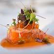Receta Salmon Macerado Emulsion Tomates Julio Garmendia Afuegolento