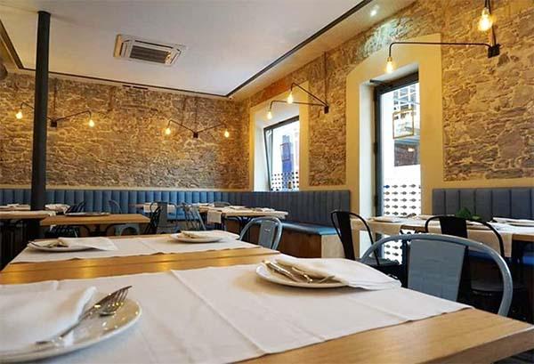 Restaurante Zascandil Gijon Asturias España Afuegolento