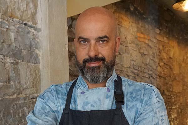 Cocinero José Luis Camacho Restaurante Zascandil Afuegolento