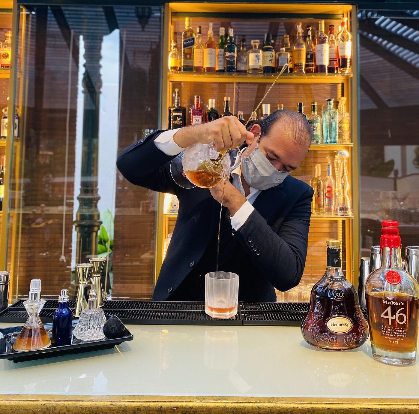 Receta Coctel Palace Martini Jordi Baques Velasquez Afuegolento