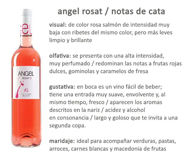 Vino Angel Rosat Bodetas Angel Mallorca Afuegolento