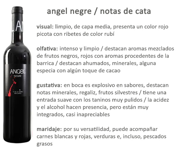 Angel Negre Bodegas Angel Mallorca Afuegolento