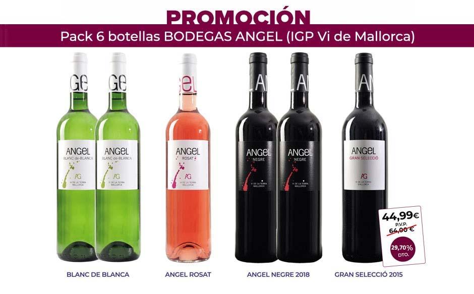 Vinos Bodegas Angel Santa Maria Mallorca Afuegolento