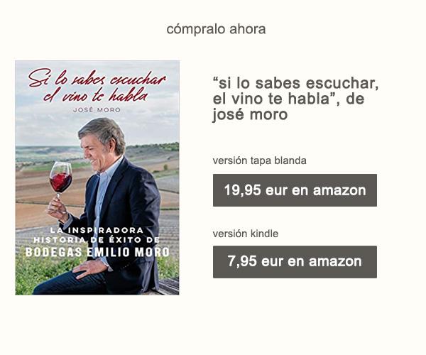 Libro Si lo Sabes Escuchar El Vino Te Habla de José Moro Afuegolento