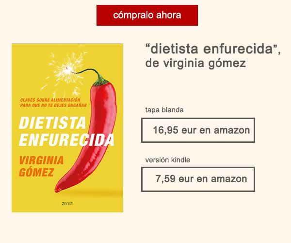 Libro Dietista Enfurecida Virgina Gómez Afuegolento