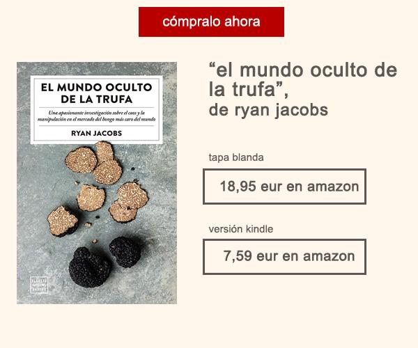 Libro El Mundo Oculto de la Trufa Ryan Jacobs Afuegolento