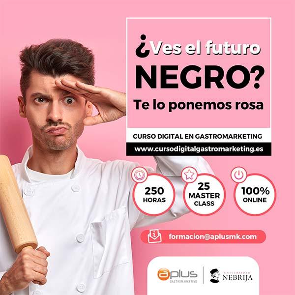 Curso Digital Gastromarketing Online Nebrija Afuegolento 2