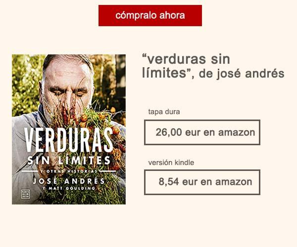 Libro Verduras Sin Limites Jose Andres Afuegolento